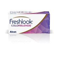 FreshLook ColorBlends - nedioptrické (2 šošovky) farba: Brilliant Blue - Kontaktné šošovky