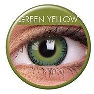 ColourVUE - Fusion (2 šošovky) farba: Green Yellow - Kontaktné šošovky