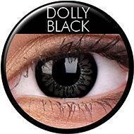 ColourVUE - BigEyes (2 šošovky) farba: Dolly Black - Kontaktné šošovky