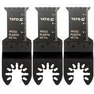 Yato BIM pílový list, 28,5 mm (drevo, plast, kov), 3 ks - Súprava príslušenstva