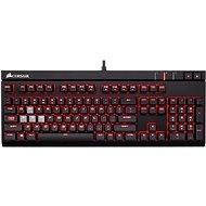 Corsair Gaming STRAFE RED LED Cherry MX Blue (CZ) - Klávesnica