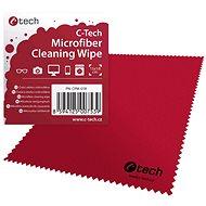 Čistiaci prostriedok C-TECH CPM-01R čistiace utierka, červená