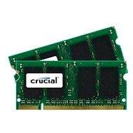 Crucial SO-DIMM 4GB KIT DDR2 800MHz CL6 - Operačná pamäť