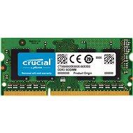 Crucial SO-DIMM 4GB DDR3 1600MHz CL11 Dual Voltage - Operačná pamäť