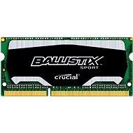 Crucial SO-DIMM 4GB DDR3 1600MHz CL9 Ballistix Šport - Operačná pamäť