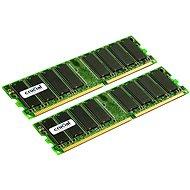 Crucial 2GB KIT DDR 333MHz CL2.5 - Operačná pamäť