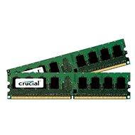 Crucial 4GB KIT DDR2 667MHz CL5 - Operačná pamäť