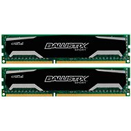 Crucial 16 GB KIT DDR3 1600 MHz CL9 Ballistix Sport - Operačná pamäť