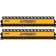 Crucial 8GB KIT DDR3 1600MHz CL8 Ballistix Tactical LP - Operačná pamäť