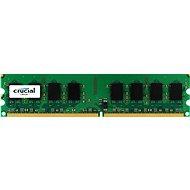 Crucial 2GB DDR2 800MHz CL6 ECC Unbuffered - Operačná pamäť