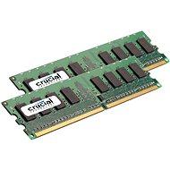 Crucial 4GB KIT DDR2 800MHz CL5 ECC Unbuffered - Operačná pamäť