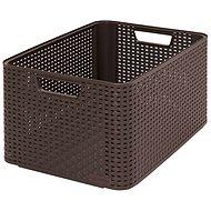 Curver Úložný box Rattan Style2 L 03616-210 - Box
