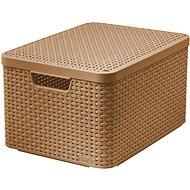 Curver Úložný box Style L V2 s vekom - Úložný box