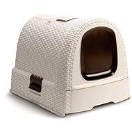 Curver Toaleta pre mačky Rattan 00615-P16 -