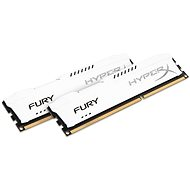 Kingston 8 GB KIT DDR3 1866 MHz CL10 HyperX Fury White Series - Operačná pamäť