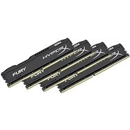 Kingston 64GB KIT DDR4 SDRAM 2400MHz CL15 HyperX Fury Black Series - Operačná pamäť