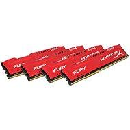 Kingston 64 GB KIT DDR4 2400 MHz CL15 HyperX Fury Red Series - Operačná pamäť