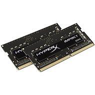 Kingston SO-DIMM 8GB KIT DDR4 SDRAM 2400MHz CL14 HyperX Fury Impact Series - Operačná pamäť