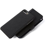 Decoded Leather 2in1 Wallet Case Black iPhone 7+/6s+ - Ochranné puzdro