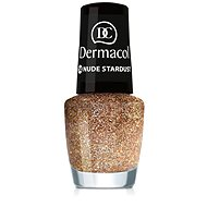 Dermacol Nail Polish With Effect - Nude Stardust 5 ml - Lak na nechty