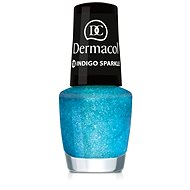 DERMACOL Nail Polish With Effect - Indigo Sparkle 5 ml - Lak na nechty