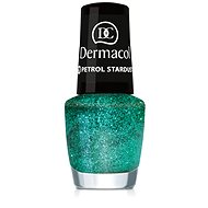 DERMACOL Nail Polish With Effect - Petrol Stardust 5 ml - Lak na nechty