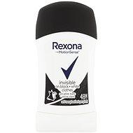 REXONA Invisible Black + White 40 ml - Dámsky antiperspirant