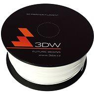 3D World ABS 1.75 mm, 1 kg, biela - Tlačová struna