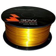3D World PLA 1,75 mm 1 kg zlatá - Tlačová struna