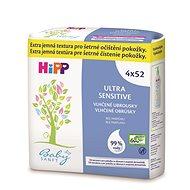 HiPP Babysanft Ultra Sensitive 4x52 ks - Vlhčené obrúsky