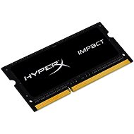 Kingston SO-DIMM 4GB DDR3L 1600MHz HyperX Impact CL9 Dual Voltage Black Series - Operačná pamäť