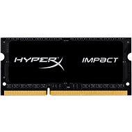 Kingston SO-DIMM 4 GB DDR3L 1866 MHz HyperX Impact CL11 Black Series - Operačná pamäť