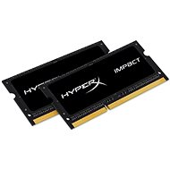 Kingston SO-DIMM 16GB KIT DDR3L 1600MHz HyperX Impact CL9 Dual Voltage Black Series - Operačná pamäť