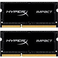 Kingston SO-DIMM 16 GB KIT DDR3L 1866 MHz HyperX Impact CL11 Black Series - Operačná pamäť