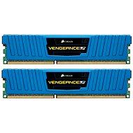 Corsair 8 GB KIT DDR3 1600 MHz CL9 Blue Vengeance Low profile - Operačná pamäť