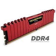 Corsair 16GB KIT DDR4 2 400 MHz CL16 Vengeance LPX červená - Operačná pamäť