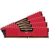 Corsair 16 GB KIT DDR4 2 666 MHz CL16 Vengeance LPX červená - Operačná pamäť