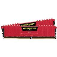 Corsair 16GB KIT DDR4 SDRAM 3000MHz CL15 Vengeance LPX červená - Operačná pamäť