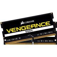 Corsair SO-DIMM 8GB KIT DDR4 SDRAM 2400MHz CL16 Vengeance čierna - Operačná pamäť