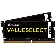 Corsair SO-DIMM 16GB KIT DDR4 SDRAM 2133MHz CL15 ValueSelect čierna - Operačná pamäť