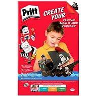 PRITT Crafting Kits Pirates - 4 varianty - lepiaca sada