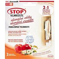 CERESIT Stop Vlhkosti 2 v 1 – absorpčné vrecúška energické ovocie 2 × 50 g - Pohlcovač vlhkosti