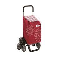 GIMI Tris Floral červený nákupný vozík 56 l - Vozík