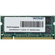 Patriot SO-DIMM 4 GB DDR2 800MHz CL6 Signature Line - Operačná pamäť