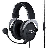 HyperX Cloud Gaming Headset strieborná - Slúchadlá s mikrofónom