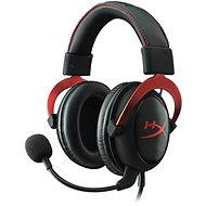HyperX Cloud II Headset červená - Slúchadlá s mikrofónom