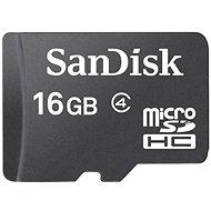 SanDisk Micro SDHC 16 GB Class 4 - Pamäťová karta