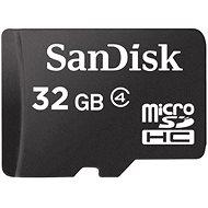 SanDisk Micro SDHC 32 GB Class 4 - Pamäťová karta