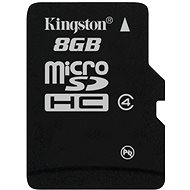 Kingston Micro SDHC 8GB Class 4 - Pamäťová karta