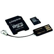 Kingston Micro SDHC 8GB Class 4 + SD adaptér a USB čítačka - Pamäťová karta